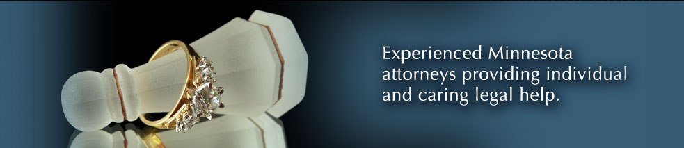 Experienced Minnesota divorce lawyers.